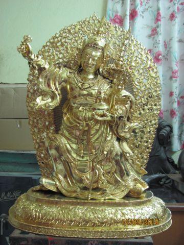 Padmasambhava statue in Milarepa Center, USA