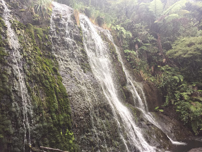 one of many waterfalls