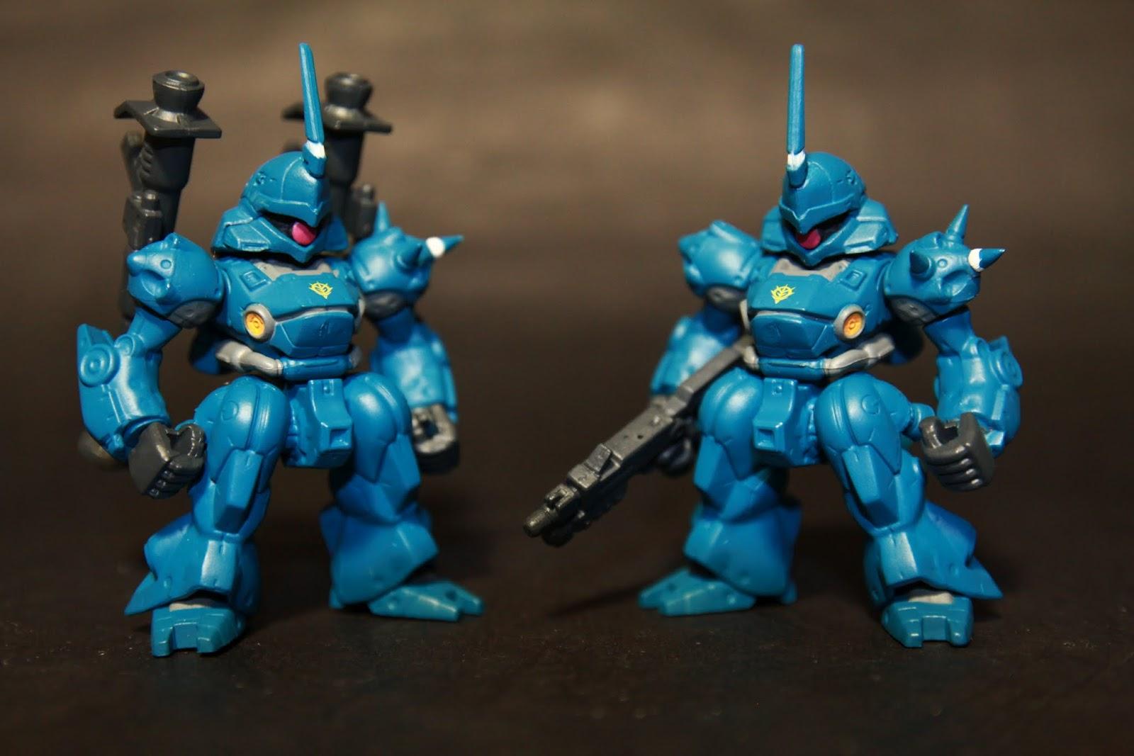 相較一般版的雜兵感 左邊的隱藏版整個就是王牌機啊!