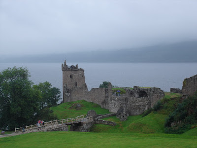 Urquart Castle on Loch Ness