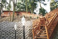 1997 - Building Uphill Stairway to Niet Ban shrine 2