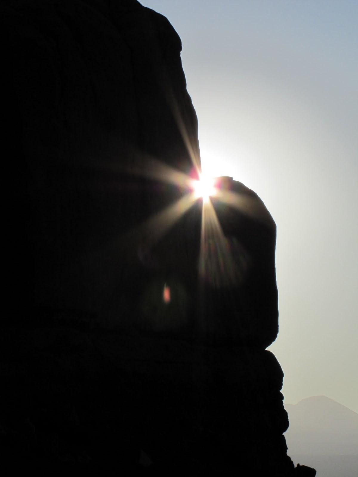 Sunrise in Arches