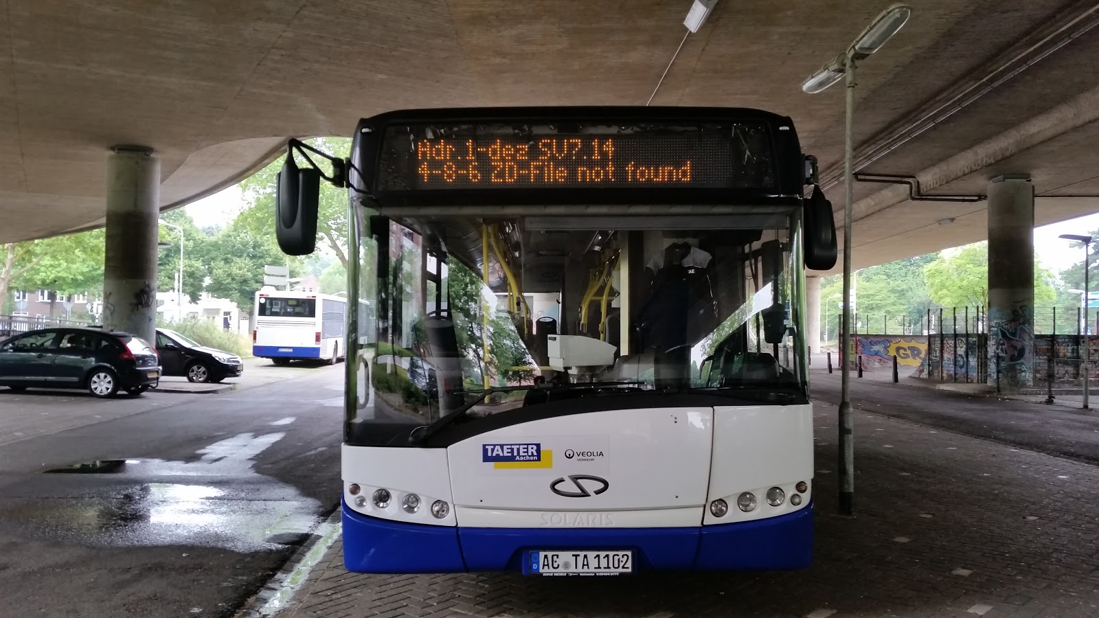 Bus to file not found