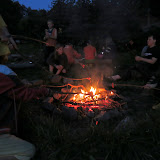 Večer jsme na ohni opekli chobotnice a další mořské potvory