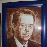 Pan prezident Havel na čokoládovém obrazu