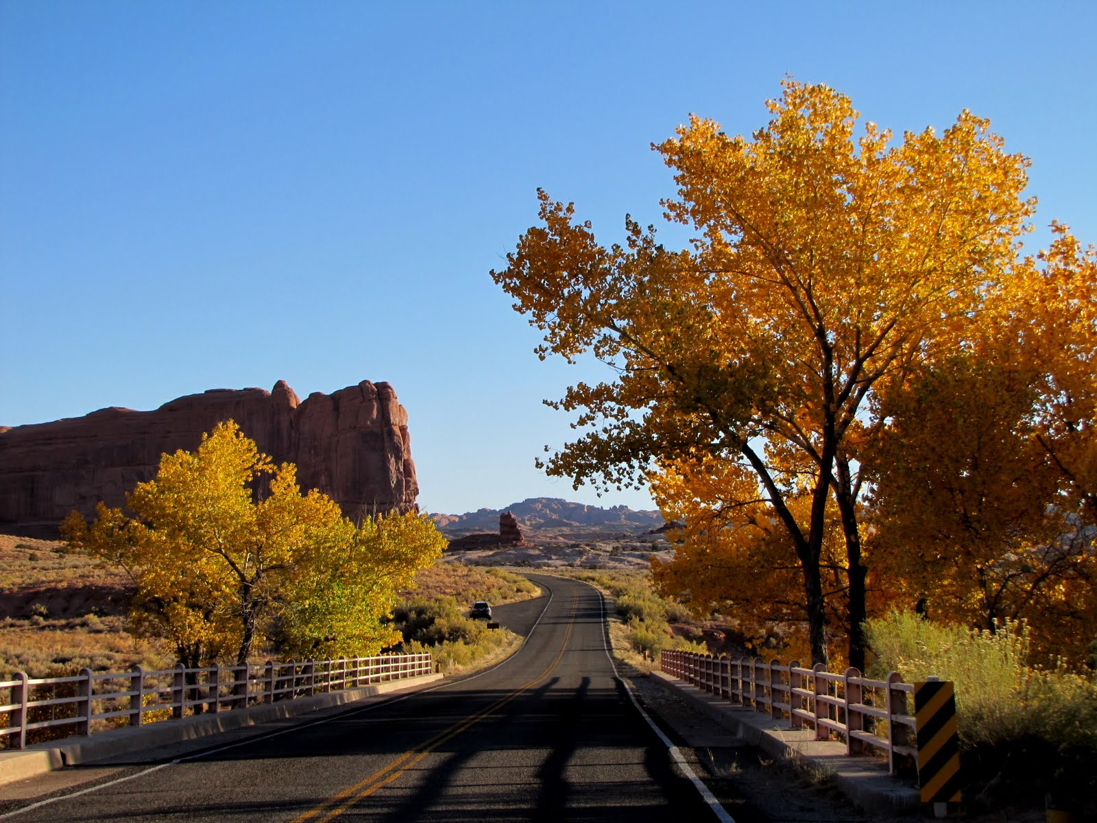 Autumn in Arches National Park