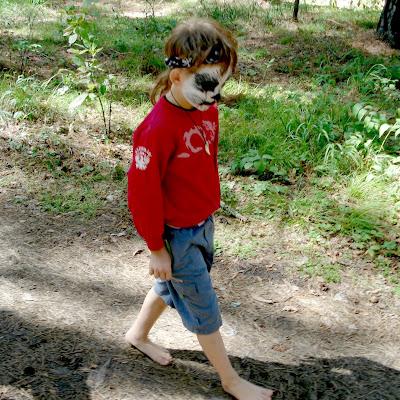 Маленький мальчик отважно преодолел почти 6 километров по лесной чаще!