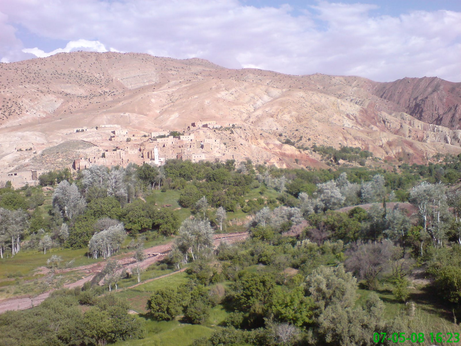 View from gite at Tighza in the High Atlas
