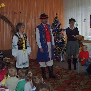 2007 rok - Wigilia w Przedszkolu nr 19 w Gdyni