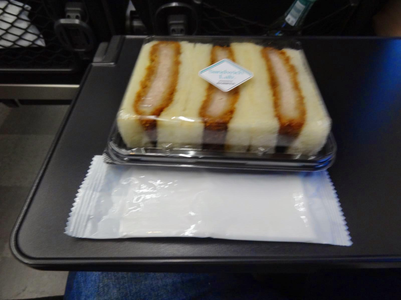 Dinner on the train :)