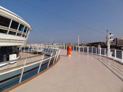 The viewing platform above the bridge