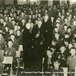 Visit of Cardinal Dalton to Crescent 1953
