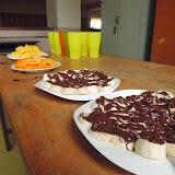 Exotika - banán v čokoládě, pomeranče, ananas a kokosové mléko