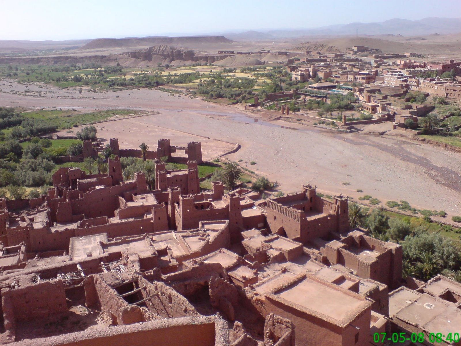 View from Ait Ben Haddou