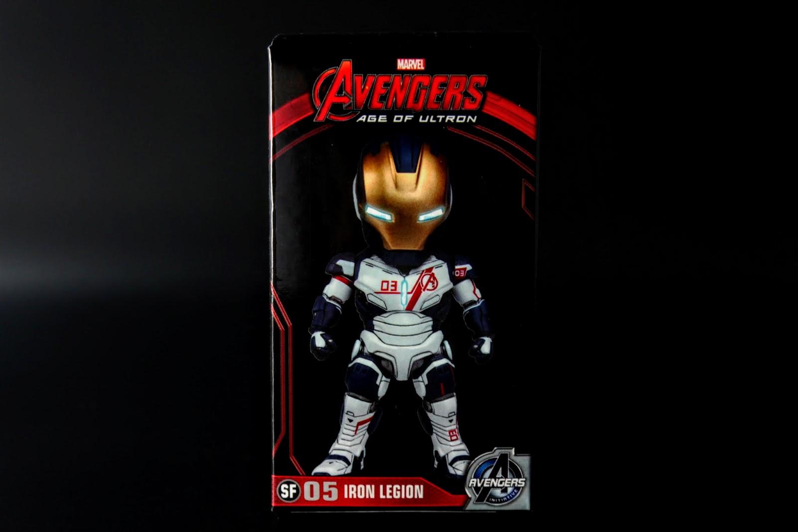 Iron Legion,片中東尼製作的無人鋼鐵軍團