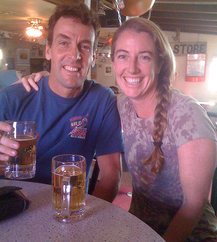 First stop was a beer at the Lazy Lizard in Ocotillo.