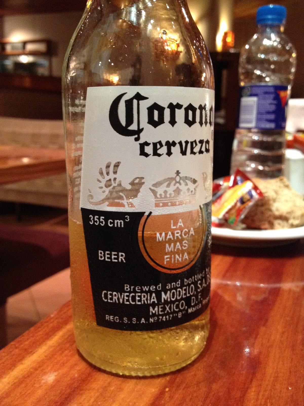 Rare to see Corona in Argentina. Most places only carry 2 Beers - Quilmes and Stella