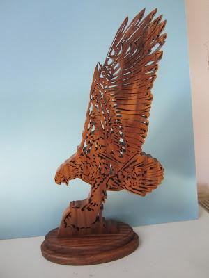 Bald Eagle Jacob Fowler CWC Nov 2006 9x18