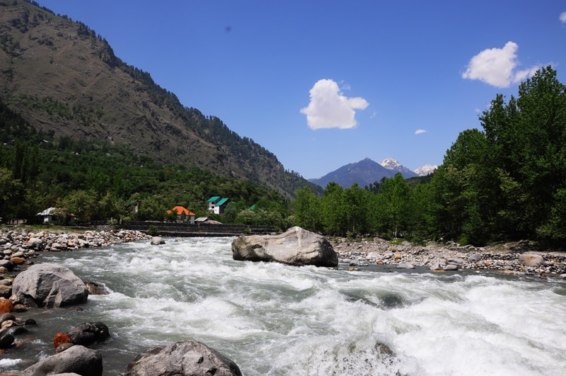 Beas River Across the Road