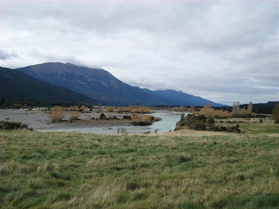 The scenery on the way to St Arnaud