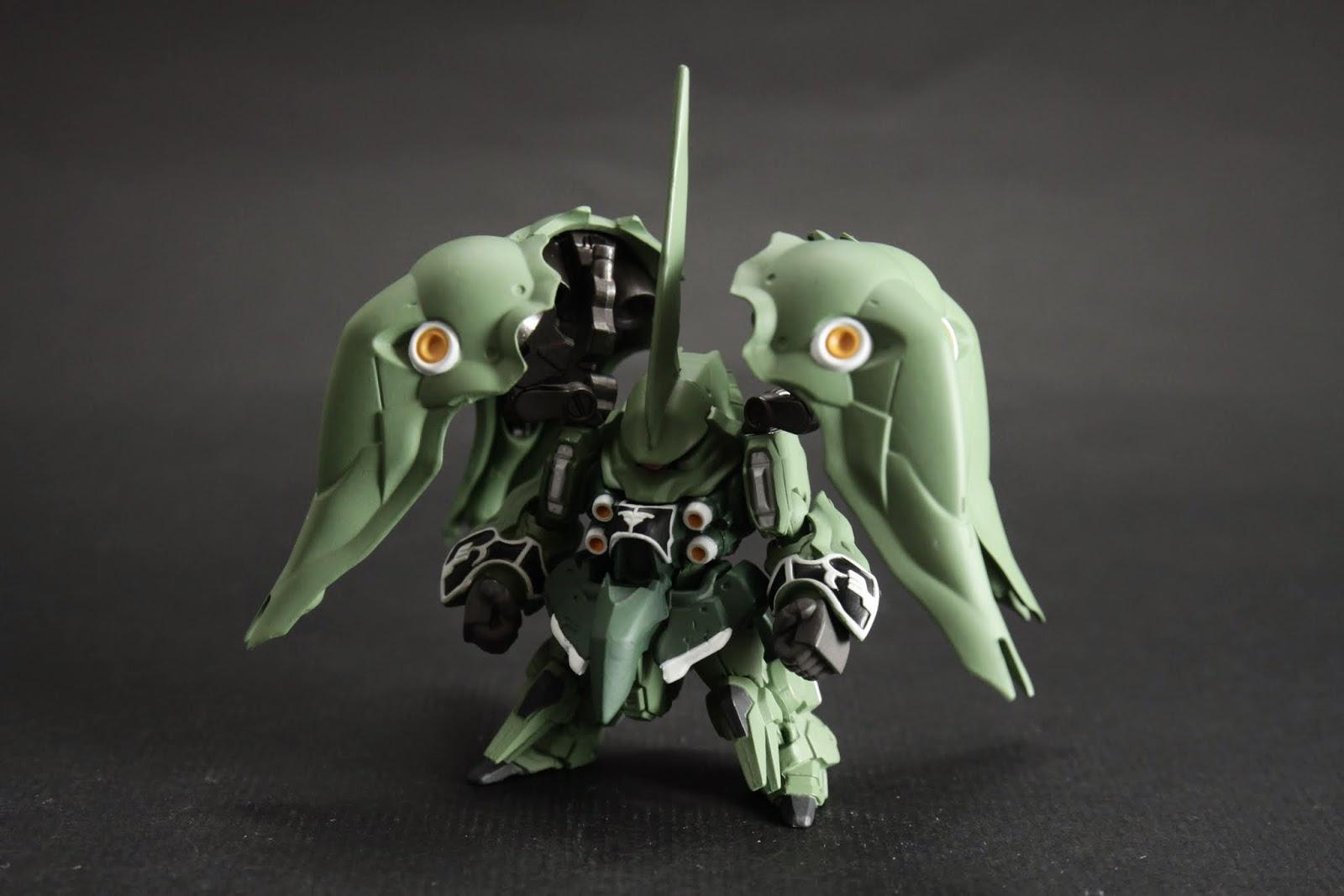 駕駛者為マリーダ・クルス 也是U.C.0088年新吉翁所製造的複製強化人普魯12