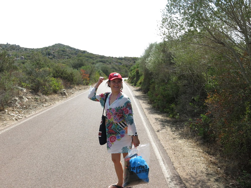 Finding our way at the arcipelago La Maddalena