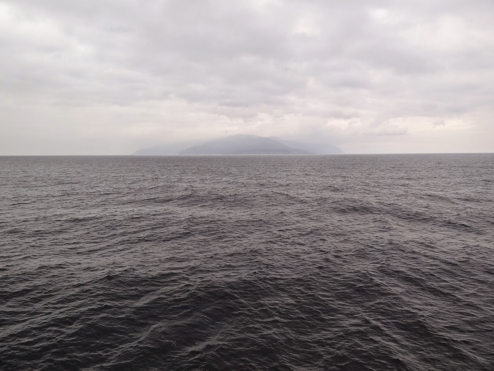 Officially in the Sea of Okhotsk