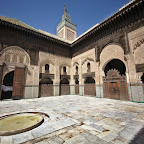 Medina has many hidden courtyards and mosques