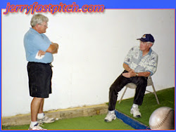 """Jerry and Ernie Parker Again, talking about what else... """"Pitching"""""""