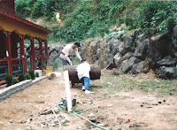 1996 - Construction of Back of the Temple 4
