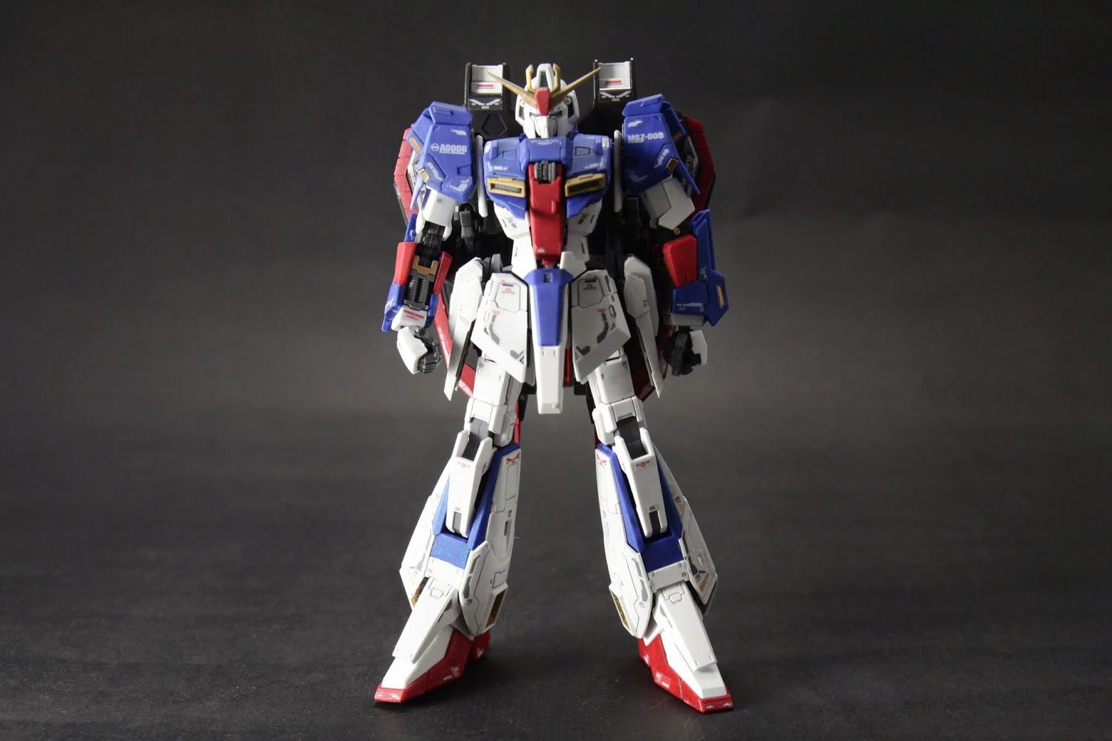 RG版的Zeta造型 應該是目前現有模型版本裡最帥的吧
