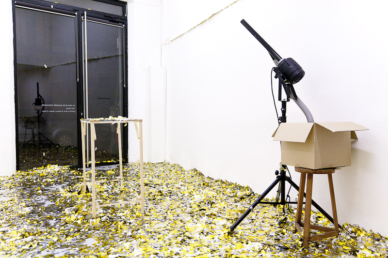 Jordi Ferreiro: Un intento de hacer perceptible lo imperceptible. foto: Eva Carasol