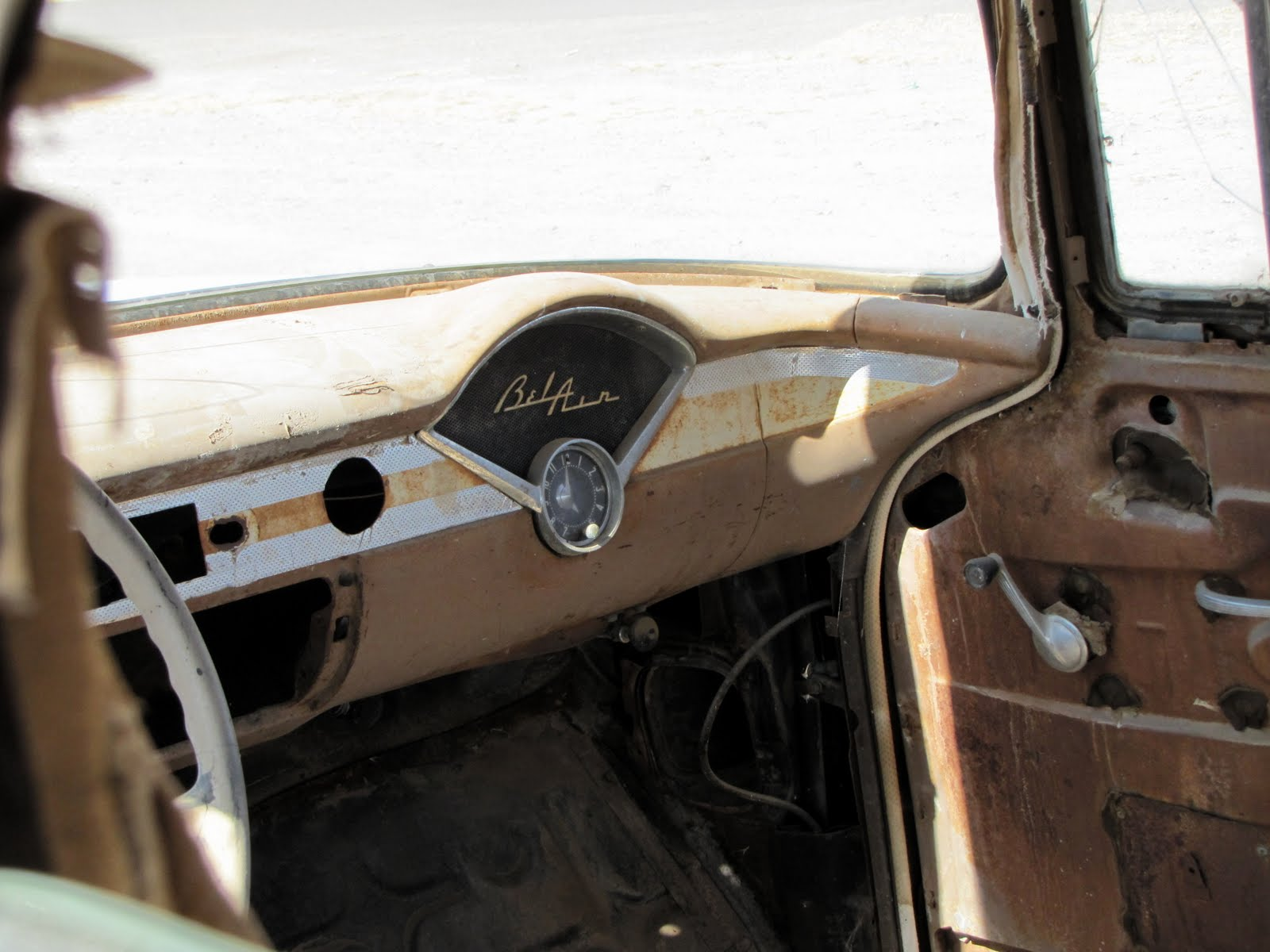 Bel Air Dashboard for the passenger seat, 1956 Chevrolet Bel Air