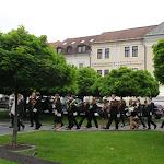Megérkeztek a magyar diákok a város Fő terére
