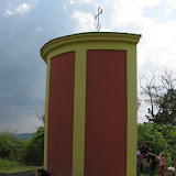 Na vrcholu Koukolovy hory - čerstvě rekonstruovaná kaplička