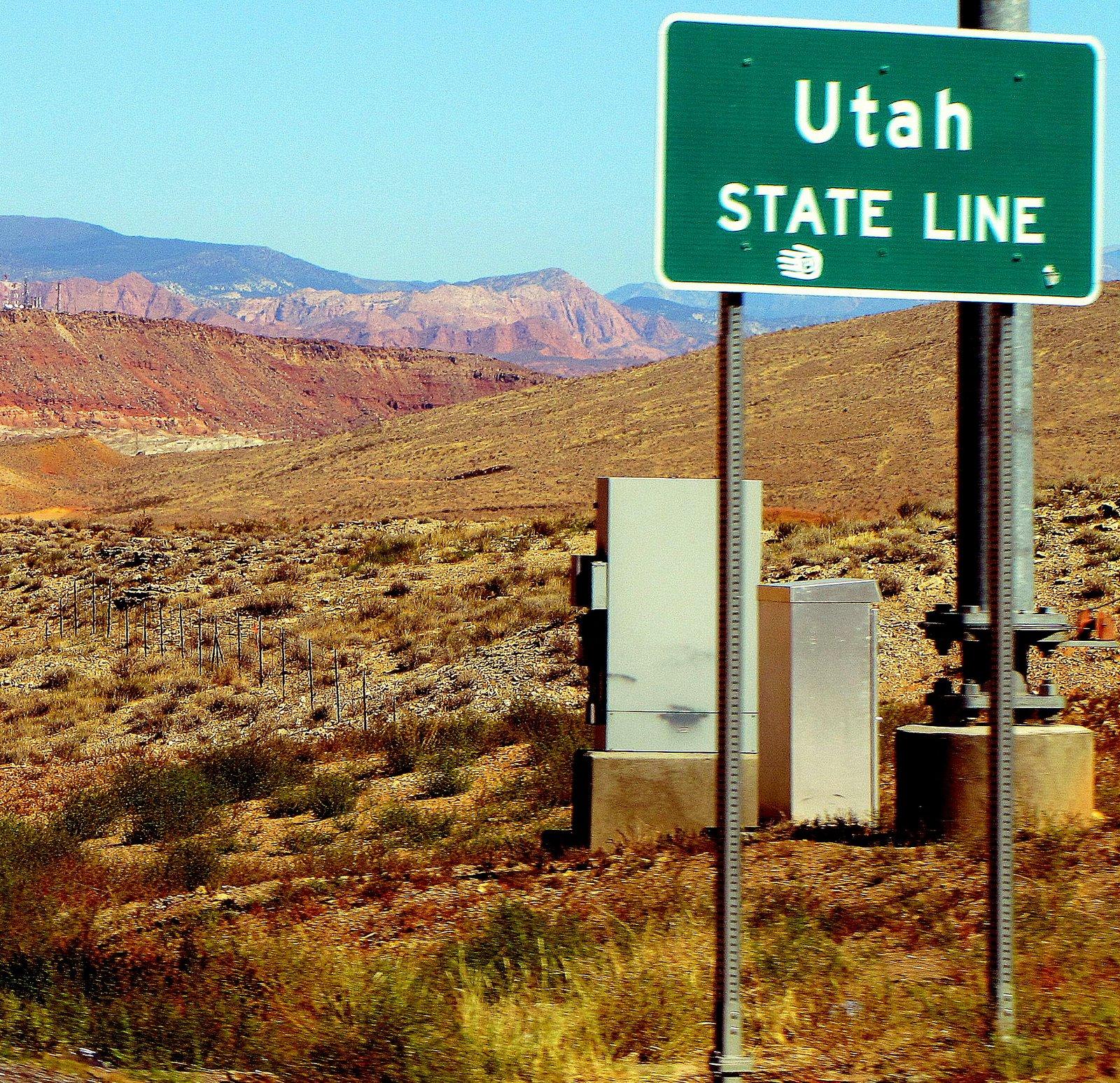 Csá Nevada, helló Utah  From Nevada to Utah