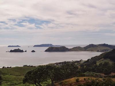Looking toward Opito Bay