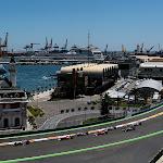 First corner after start 2011 European F1 GP