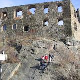 Rekonstrukce dobývání hradu Okoř