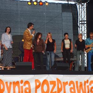 2007 rok - Pokaz mody kaszubskiej i występ zespołu Leszcze