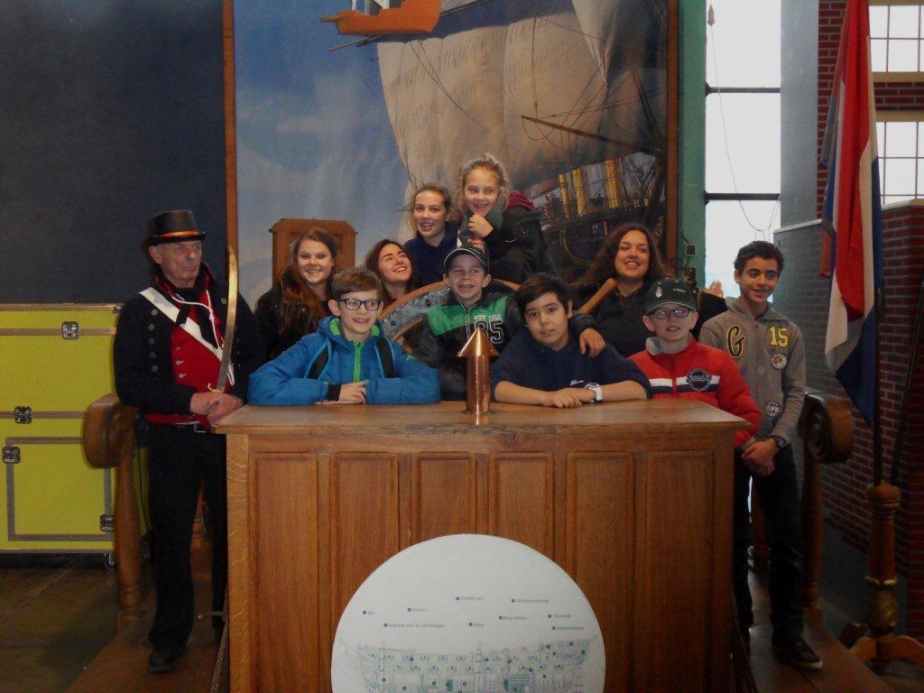 2015 - Bezoek Junioren aan De Delft