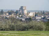 Loches from the hotel