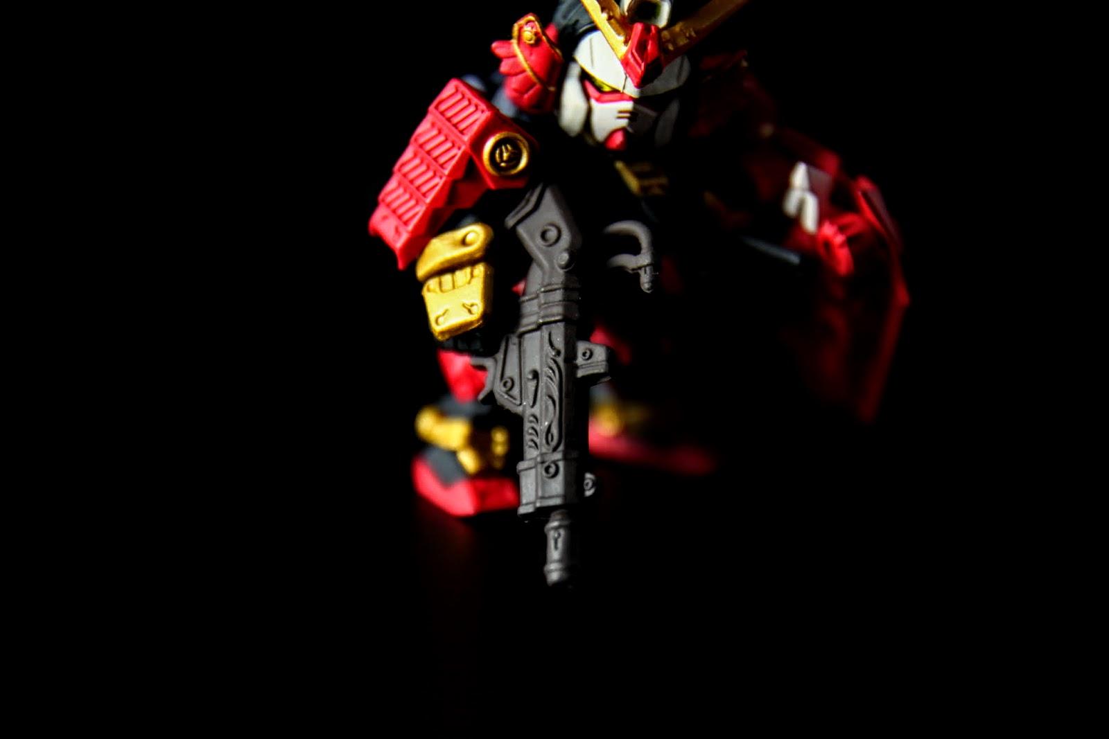 火槍:雷威銃, 雕花很用心阿~