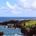 Waianapanapa State Park - natural volcanic bridge