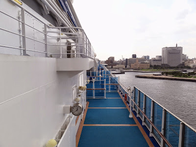 Rear on Deck 16 looking towards the bow