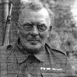 Captain J L Fry, MC REA, Upton Home Guard At the Manor House
