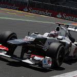Kamui Kobayashi, Sauber C31 Ferrari