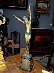 Скульптура в стиле Арт Деко. ок.1900 г.