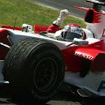 Jarno Trulli (ITA) Toyota TF106
