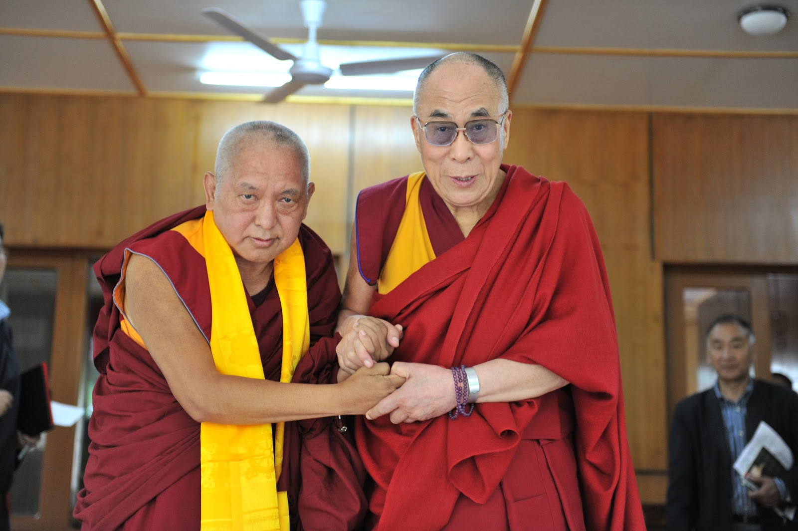 With His Holiness the Dalai Lama 2012